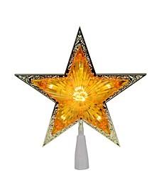Pre-Lit Crystal Point Star Christmas Tree Topper