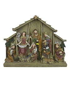 Table top Nativity Scene Christmas Figure Decoration