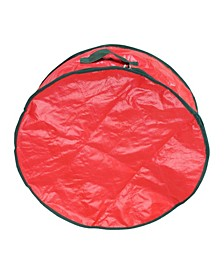 Christmas Wreath Round Storage Bag