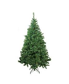 Pre-Lit LED Medium Mixed Classic Pine Artificial Christmas Tree