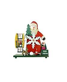 Santa Claus Wonderland Christmas Musical Table top Decor