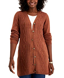 Turbo Button-Front Cardigan, Created for Macy's