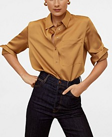 Satin Pocket Shirt