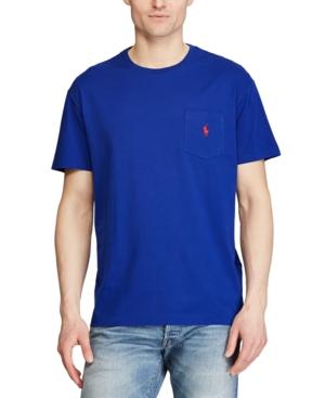Polo Ralph Lauren Men's Big & Tall Classic-Fit Pocket T-Shirt