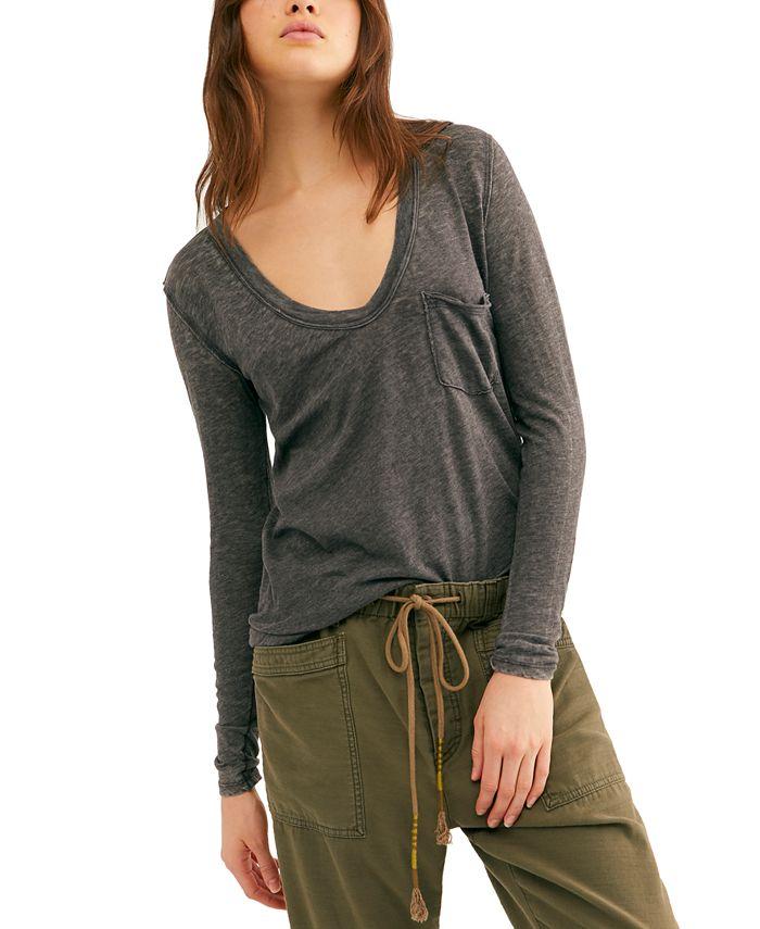 Free People - Betty Long-Sleeve T-Shirt