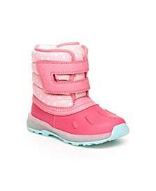 Toddler Girls Lighted Snow Boot