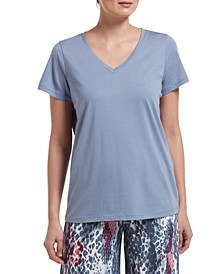 V-Neck Sleep T-Shirt