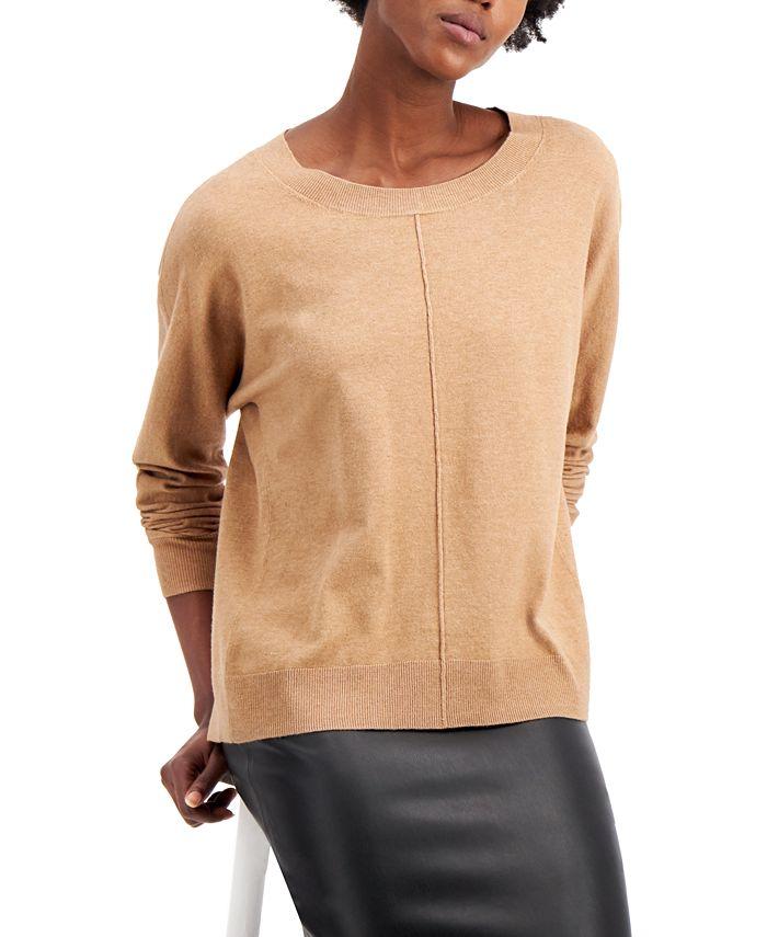 Alfani - Seam-Front Sweater