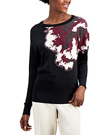 Floral Sweater, Created for Macy's