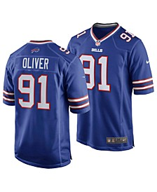Buffalo Bills Men's Game Jersey Ed Oliver
