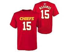 Outerstuff Kansas City Chiefs Youth Mainliner Player T-Shirt Pat Mahomes