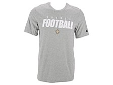 New Orleans Saints Men's Dri-Fit Cotton Football All T-Shirt