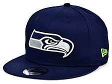 Seattle Seahawks Basic Fashion 9FIFTY Snapback Cap