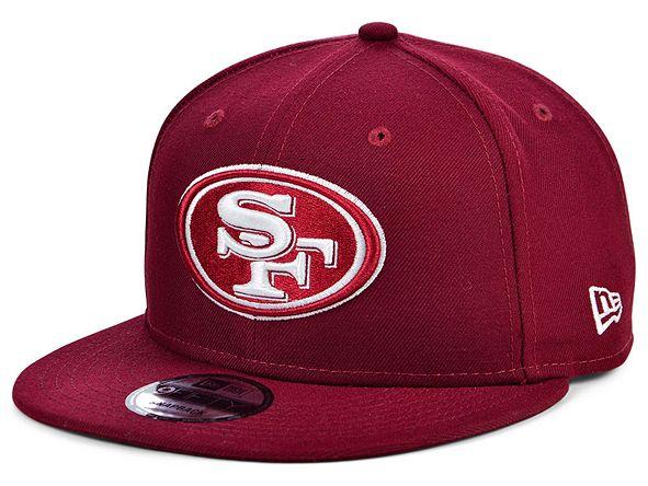 New Era San Francisco 49ers Basic Fashion 9FIFTY Snapback Cap