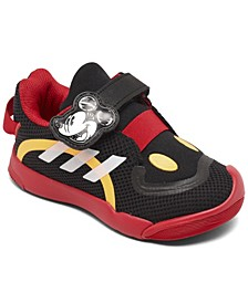 Toddler Active Play Mickey Mouse Stay-Put Training Sneakers from Finish Line