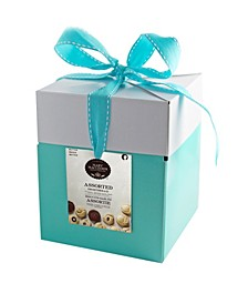 Large Mint Gift Box of Assorted Shortbread, 24 Count