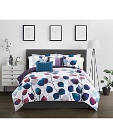 Anais 9 Piece King Comforter Set