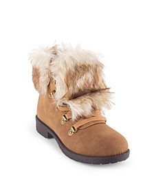 Women's Stratton Fuzzy Hiker Booties