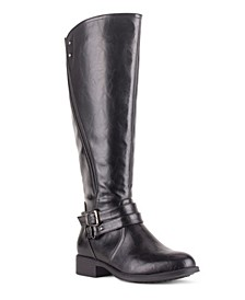 Women's Bergen Buckle Strap Tall Boots