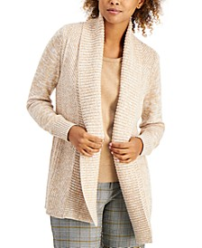 Marled Shawl-Collar Cardigan, Created for Macy's