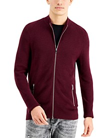 INC Men's Howie Full-Zip Sweater, Created for Macy's