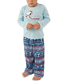 Matching Toddler Peanuts Family Pajama Set