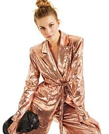 CULPOS X INC Sequin Blazer, Created for Macy's