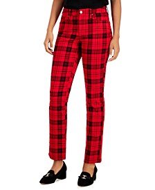 Plaid Jeans, Created for Macy's