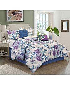 Nanshing Seoul 6-Piece California King Comforter Set