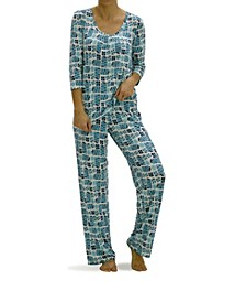 Women's Holiday Gift Boxes Pajama Set