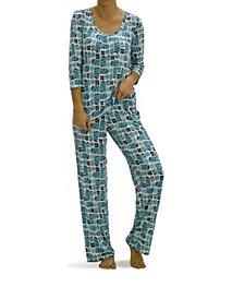 Hue Women's Holiday Gift Boxes Pajama Set