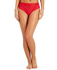 INC Women's Lace High-Waist Cheeky Underwear, Created for Macy's