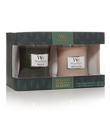 WoodWick 2 Medium Jar Holiday Giftset
