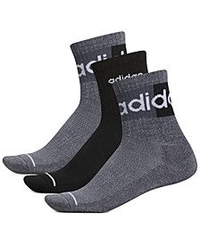 Men's 3-Pk. Linear II High Quarter Socks