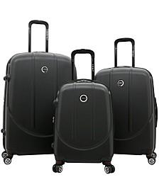 Traveler's Club Falkirk 3pc. Hardside Expandable Luggage Set