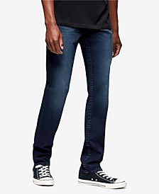 Men's Geno Big T Slim Fit Jeans with Back Flap Pockets