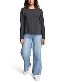 Jesse Palm Cotton Long-Sleeve Graphic T-Shirt