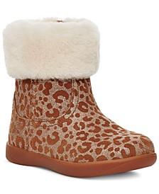 Baby Girls Jorie Glitter Leopard Booties