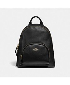 Leather Carrie Backpack 23