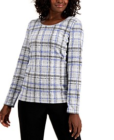 Plaid T-Shirt, Created for Macy's