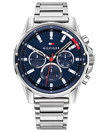 Tommy Hilfiger Men's Stainless Steel Bracelet Watch 45mm