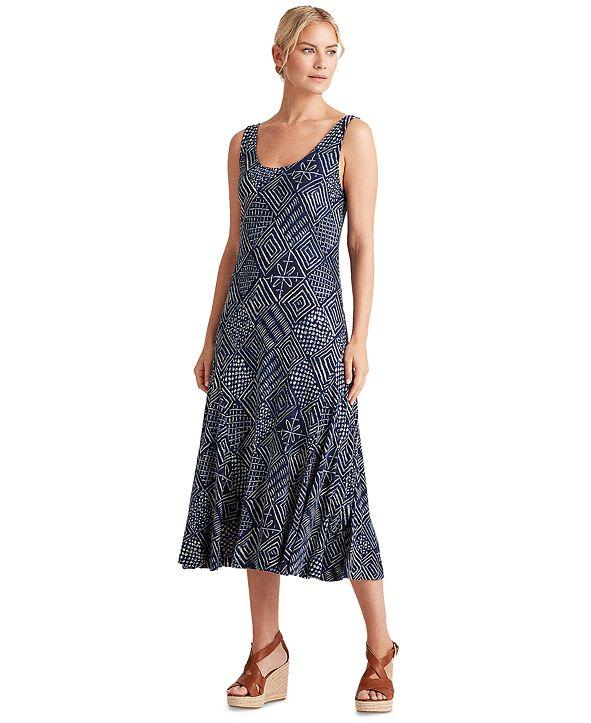 Lauren Ralph Lauren Sleeveless Linen Dress