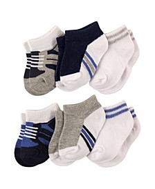 Baby Boys and Girls Socks Set, Pack of 6