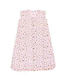Girls Star Sleeveless Wearable Sleeping Blanket