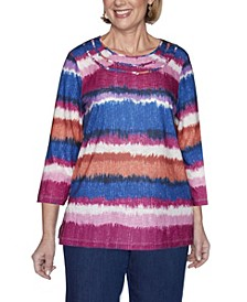 Women's Watercolor Biadere Misses Top
