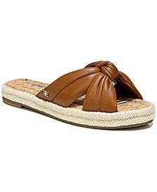 Women's Abbene Knotted Slide Sandals