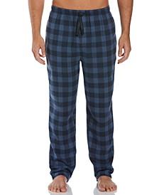 Perry Ellis Men's Buffalo Check Flannel Pajama Pants