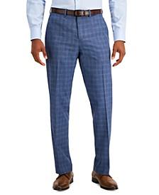 Portfolio Men's Modern-Fit Subtle Check Performance Dress Pants