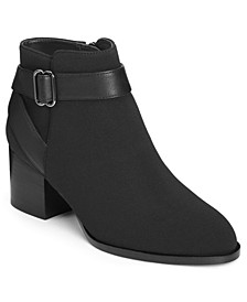 Women's Maggie Block Heel Booties