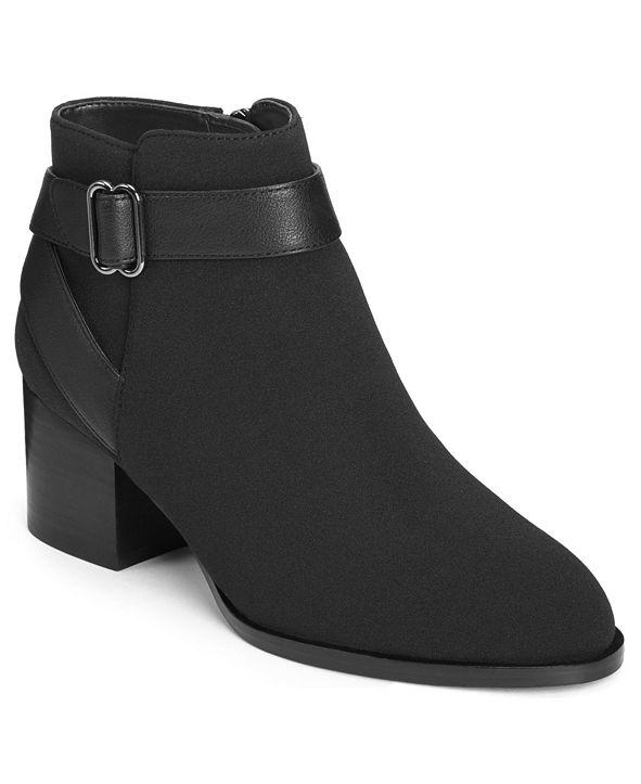 Aerosoles Women's Maggie Block Heel Booties